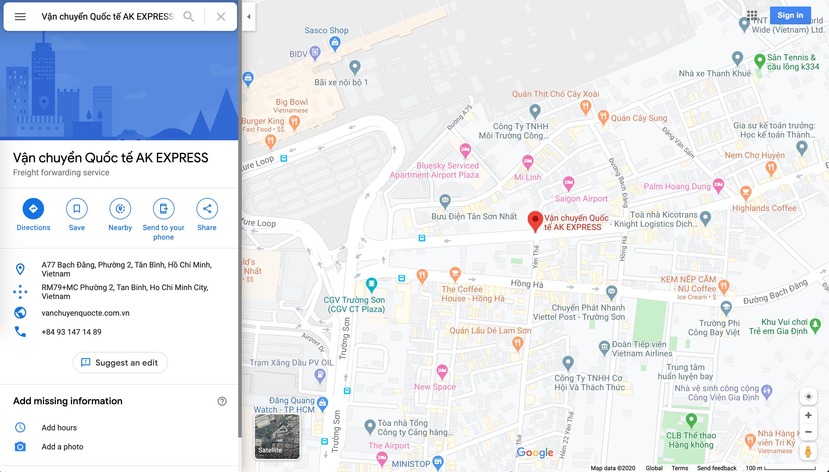 google maps ak express