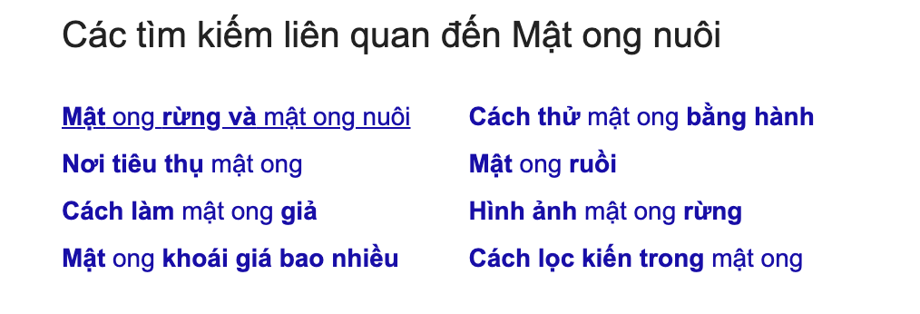 goi y mat ong nuoi